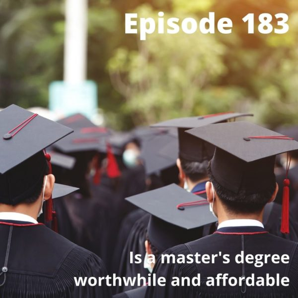 An affordable master's degree
